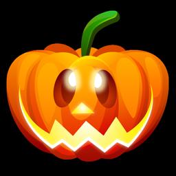 Halloween happy icon