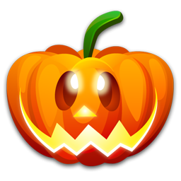 Halloween happy icon