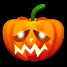 Halloween sad icon