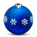 Ornament with Snow Flakes icon